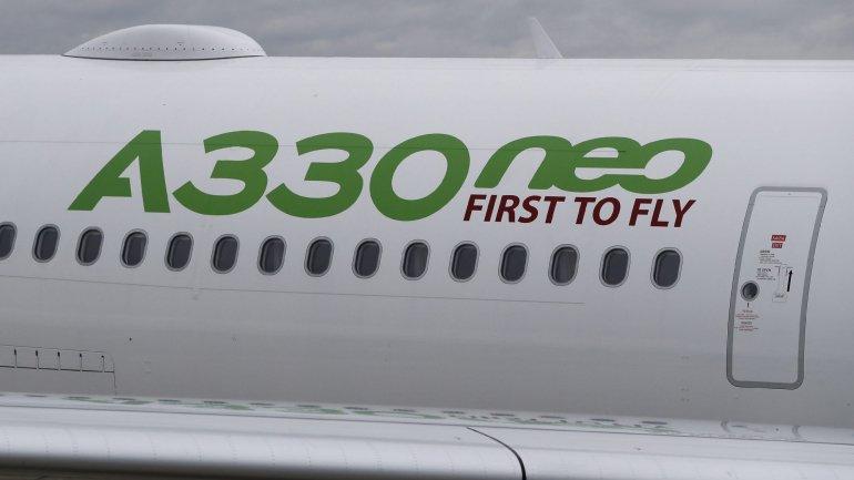 TAP recebe dois novos Airbus A330neo em Lisboa e espera mais 10 aviões este ano