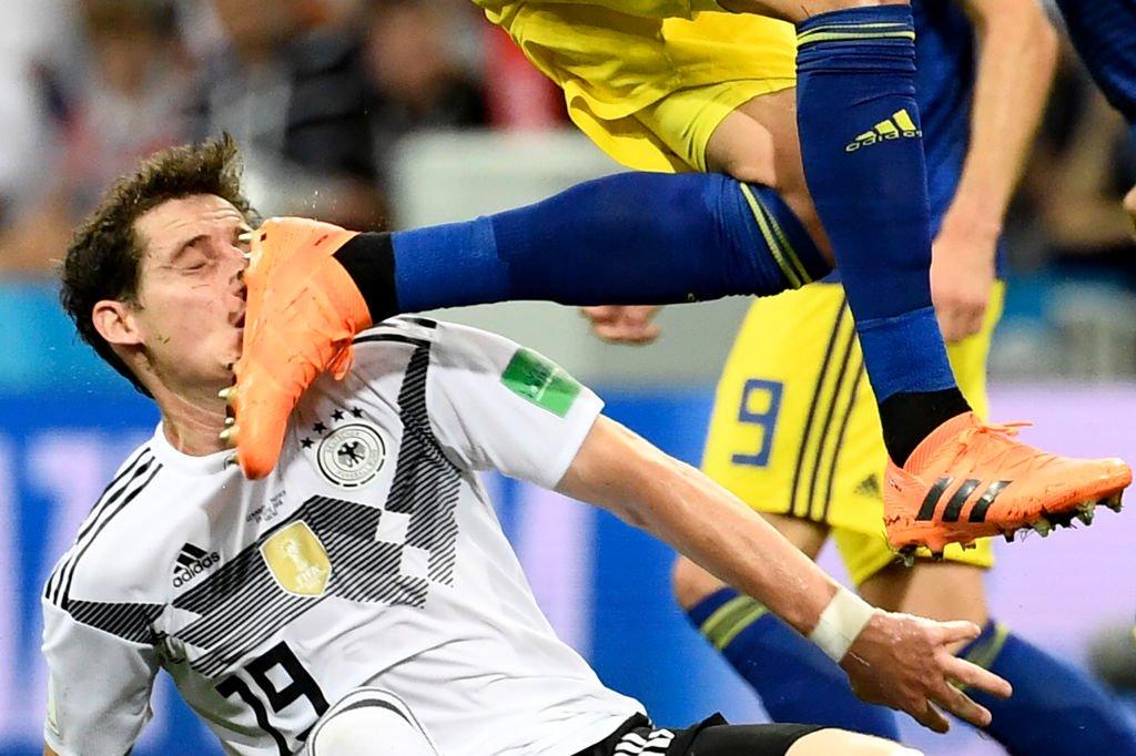 7632312fd9617 Alemanha vence Suécia (2-1) e evita eliminação. México ganhou à ...