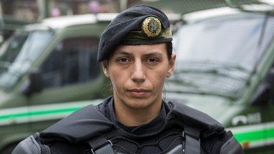 a1e6abcecc0da A militar da GNR que está onde as outras mulheres receiam estar ...