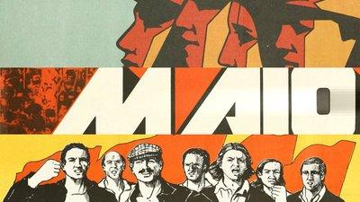 """a9a6bb94c Liberdade e democracia"""". Os cartazes do 1 de maio – Observador"""