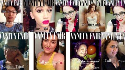 da9eab96bb Vanity Fair  Há capas para todas as transgénero