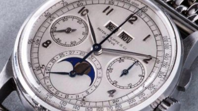 a0466b9e8a4 O relógio mais caro de sempre em leilão foi vendido por mais de 10 ...