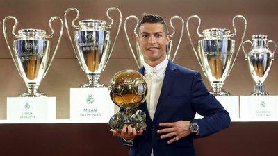 31420cd6c8 Ronaldo dedica Bola de Ouro aos adeptos do Real
