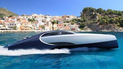 f6f8ca6f9a2 Pronto para zarpar  Eis o Bugatti Chiron dos mares