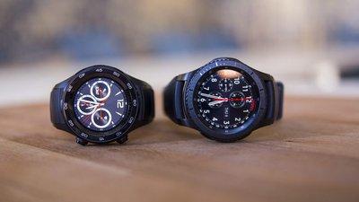 6b6932f7632 Samsung Gear S3 Frontier vs. Huawei Watch 2  um confronto de gigantes