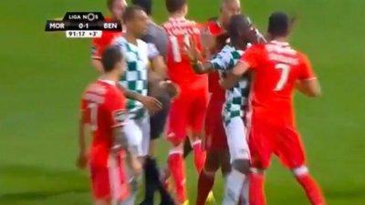 ede504a11e Murro de Samaris é a nova polémica do futebol português – Observador
