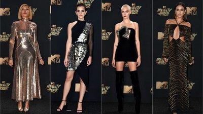 4736e695b As atrizes Taraji P. Henson, Emma Watson, Cara Delevingne e Shay Mitchell  não faltaram à cerimónia anual.