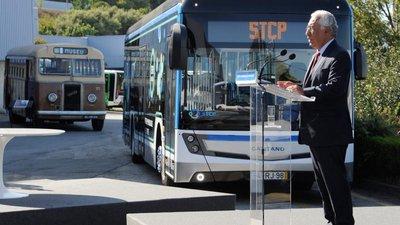 """d6ceac6f2ca0 STCP investe 92 milhões na compra de 188 veículos """"totalmente ecológicos"""""""