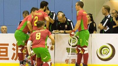 e307095c2b Espanha vence Portugal e conquista o campeonato do mundo de hóquei em patins