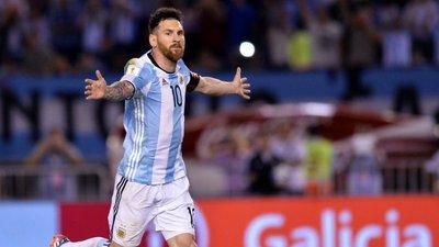 """f1ee741ae0 Perguntaram a Messi se ia ao Mundial. Ele levantou-se e disse três vezes   """"Vou. E é para ganhar"""""""