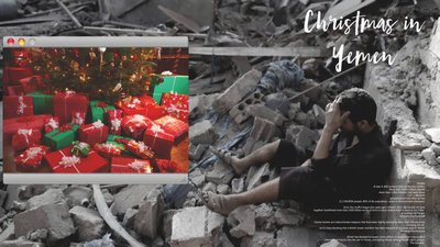 Explosion dodade fem i jemen