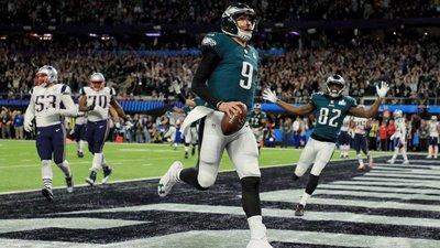 956fe19d4 Philadelphia derrotam os Patriots de Tom Brady e vencem Super Bowl pela  primeira vez
