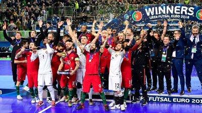 Portugal sagrou-se pela primeira vez campeão da Europa de futsal e as  reações começaram a chover de todo o lado af9e1d201c371