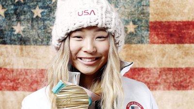 O sonho americano, por Chloe Kim  a campeã de 17 anos que se tornou um  fenómeno com um tweet a meio da prova cf237bd96f