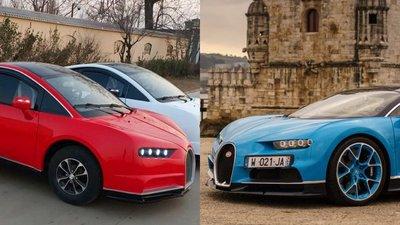 8f81554d391 China copia Bugatti Chiron e vende-o por 4.200€