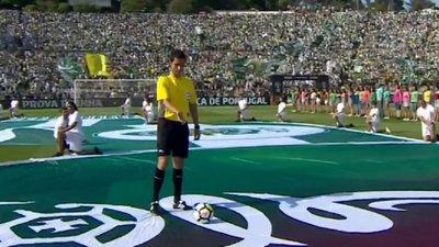 O truque de magia que fez flutuar a bola da final da Taça até ao árbitro 1007301ed25ef