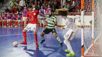 41affdd15b Benfica empata final da liga de futsal