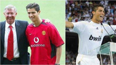 2003 vs 2009  as duas apresentações de Cristiano Ronaldo. Esta  segunda-feira e4ddb546eda58