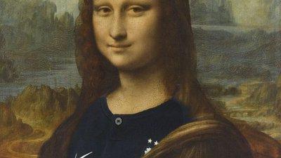 986f2281fa Mona Lisa com camisola da seleção gera polémica