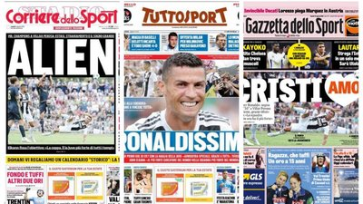 642684a22d As reações em Itália à estreia de Ronaldo na Juventus