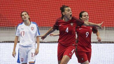 667021a50f Portugal goleia checas no arranque da corrida ao Europeu feminino de futsal