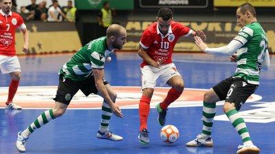 Sporting e Benfica empatam e os leões estão na final four da Liga dos  Campeões de futsal 7fa1e9524b818