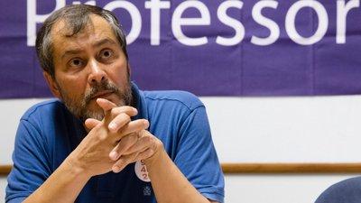 """Resultado de imagem para Mário Nogueira acredita que Governo """"isolado"""" volte às negociações com os professores"""