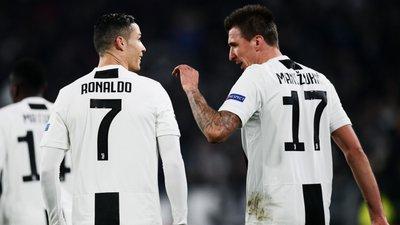 bfbf009c28 Ronaldo fez dupla com Mandzukic na frente e fabricou único golo da partida  apontado pelo croata