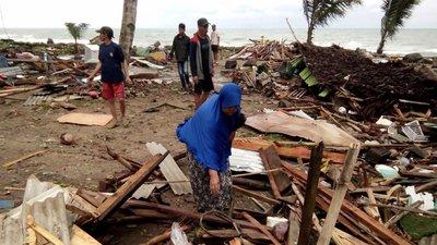 Resultado de imagem para Sobe para 222 o número de mortos na Indonésia. Há 843 feridos