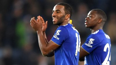 0a6577aff3 Leicester vence Manchester City com golo de Ricardo Pereira e o Liverpool é  cada vez mais primeiro (2-1)