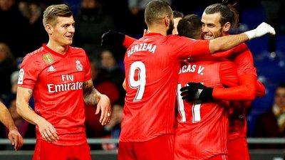 4df858f6992623 Real Madrid vence Espanyol e mantém perseguição à distância ao ...