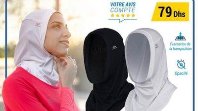 48dd7a9ecbd5 Decathlon cede a pressões e retira hijab das lojas