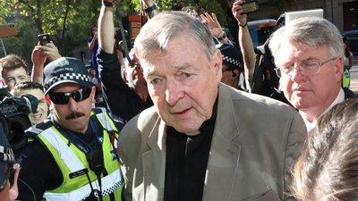Resultado de imagem para Cardeal George Pell condenado a seis anos de prisão por abuso sexual de duas crianças