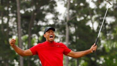 3a6a512d7 O Tigre está de volta. Tiger Woods vence o Masters em Augusta e ...