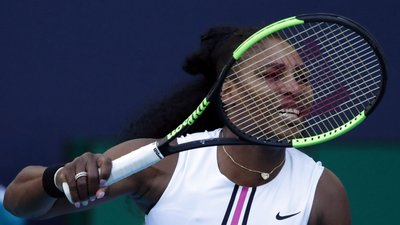 5b2d2bd949 Ténis. Serena Williams fora do torneio de Roma