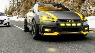 Audi Produz Um Tt Safari Muito Especial Observador