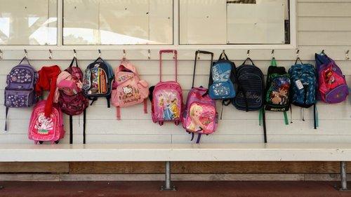 Compre Moda Nova Escola Primária Dos Alunos Sacos Escolares Impressão Personalizada LOGOTIPO Carga Redução Das Crianças Mochilas Escolares Bem