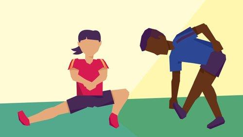 Alongamento beneficia pessoas sedentárias e atletas