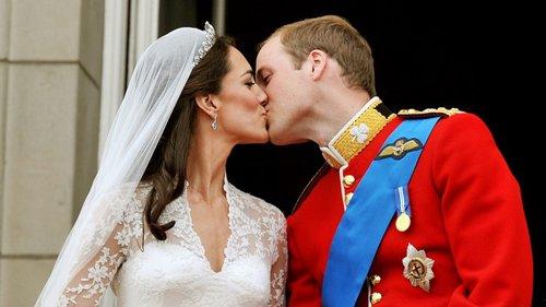 William e Kate: 5 anos de um casamento real sem mãos dadas ...