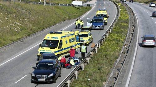 Resultado de imagem para Homem morre atropelado por dois automóveis no IC2, em Coimbra