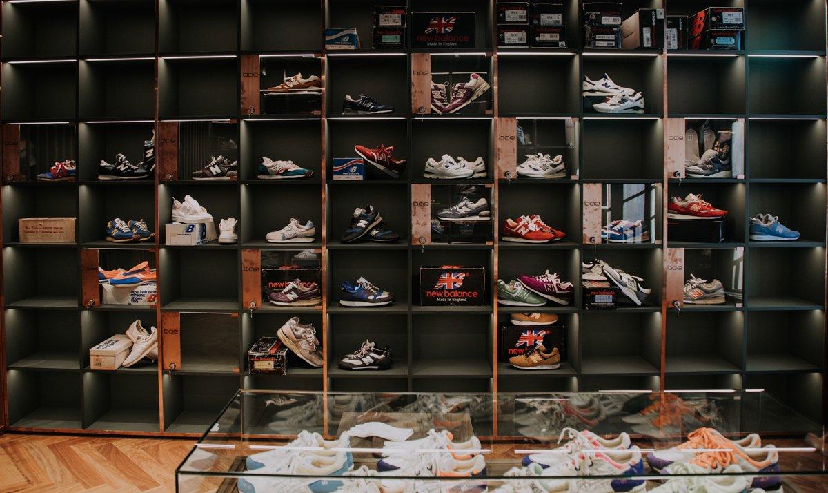 Uma loja de ténis? Não, a Bae abriu no Porto e vende