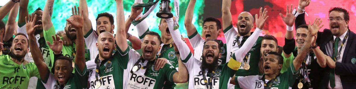 Bicampeão Sporting assegura presença na final do Nacional de futsal –  Observador 86b96dadbafe6