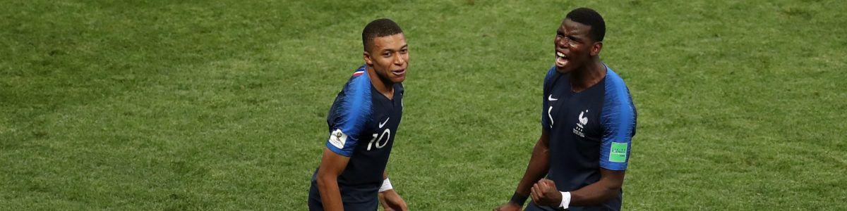 França vence Croácia por 4-2 e torna-se campeã do mundo 20 anos depois –  Observador 3fba7f269abff