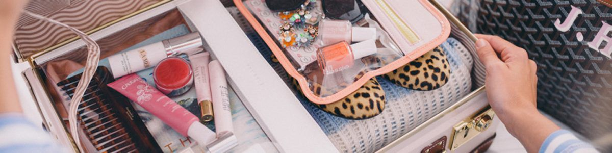 Mochila fila original maleta maquiagem mala termo
