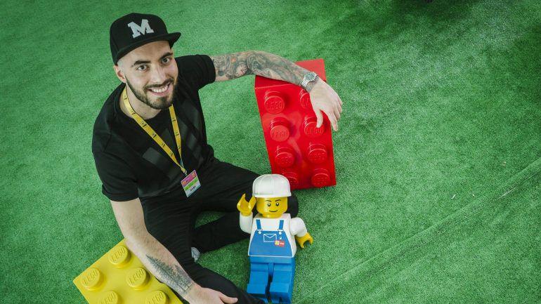"""4f7363474411bf Marcos Bessa, """"o Cristiano Ronaldo da Lego"""": """"É muito difícil ..."""