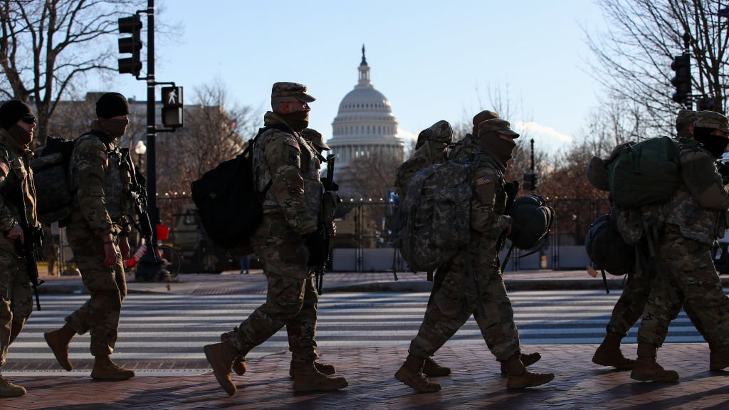 Security measures in Washington DC
