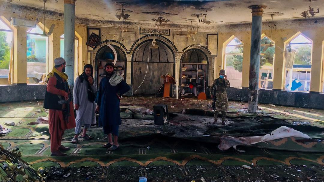 Ataque a mesquita Shiita pelo Estado Islâmico