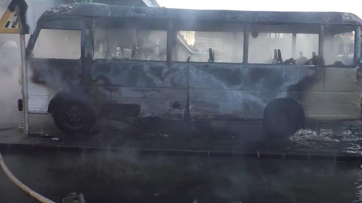 explosão autocarro Síria