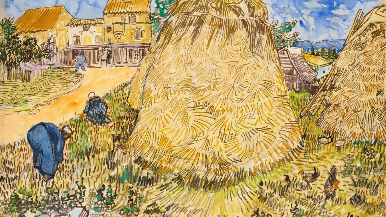 Meules de blé, Vincent van Gogh, 1888
