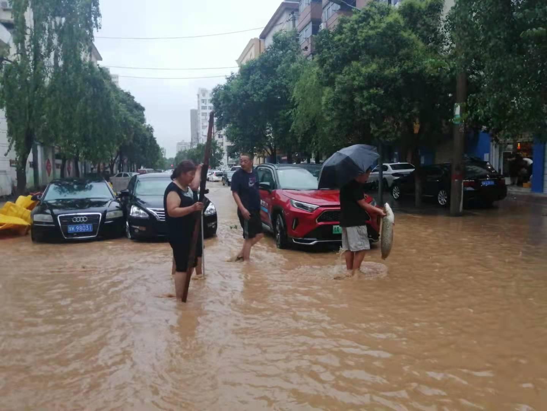 Rainstorm Hits Zhengzhou